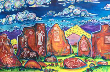 Rachel Houseman Painting