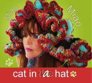 Miao Miao ~ cat in a hat cd cover