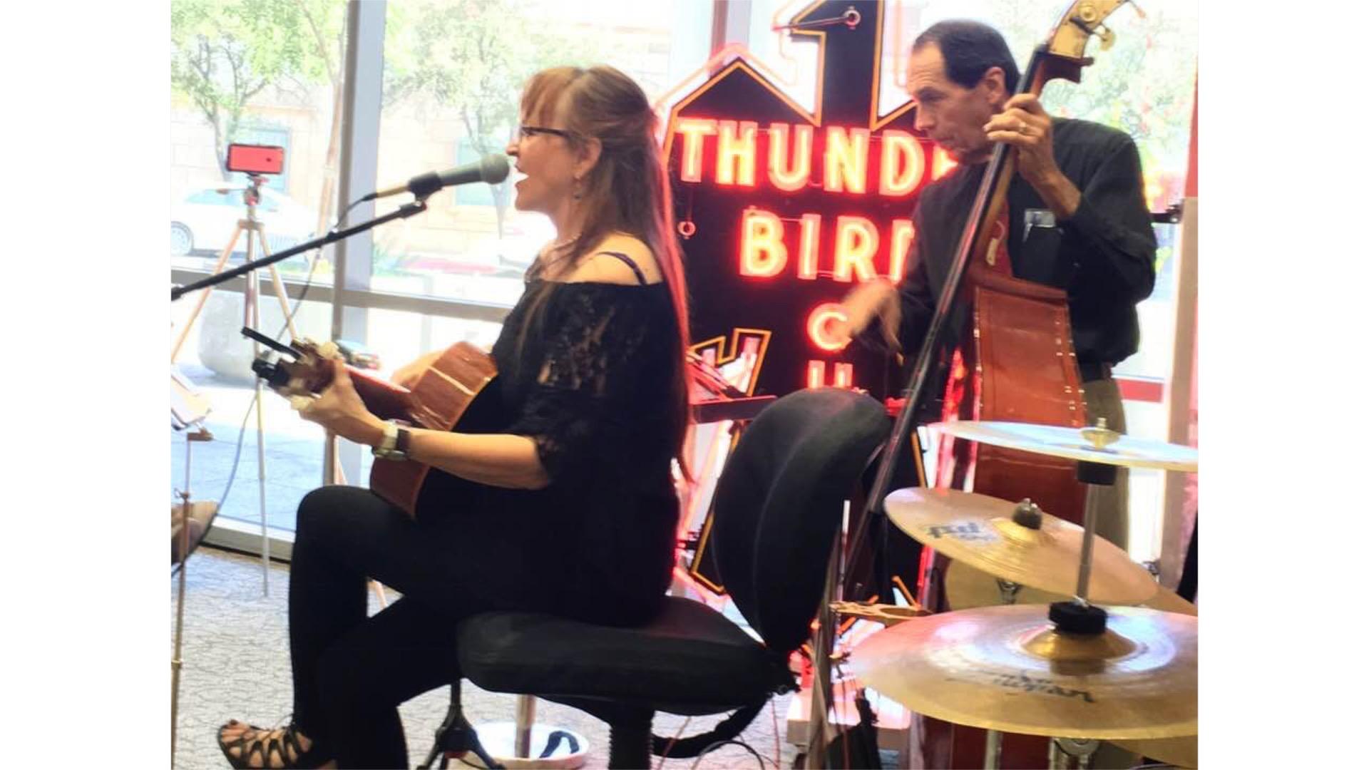 TESS @ Library w:Rick Shosie & Jazzy da Animal