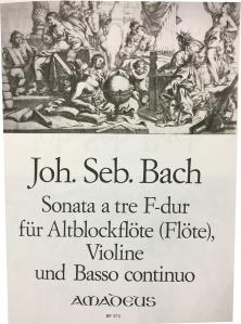 Bach Sonata a tre BMV 529