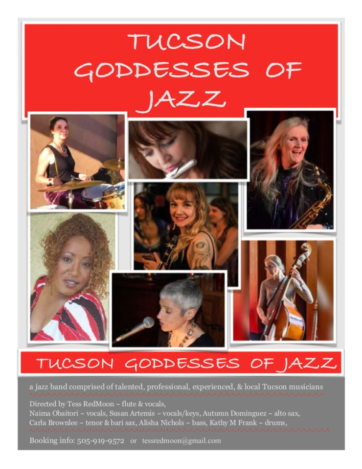 Flyer Tucson Goddesses of Jazz